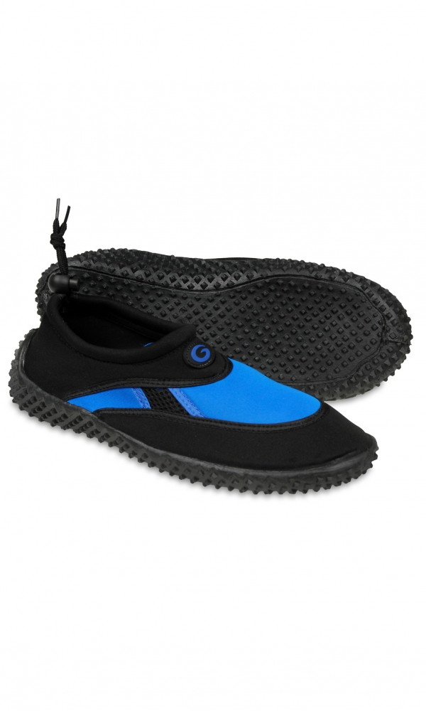 Aqua shoe men black/blue