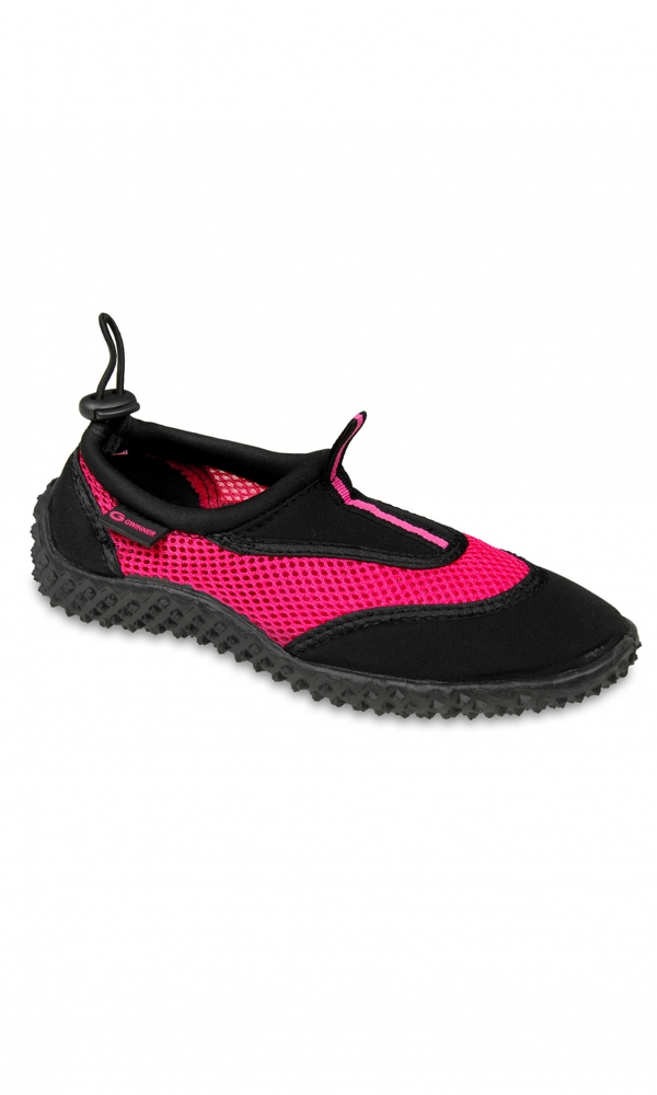 Aqua shoe women black/pink