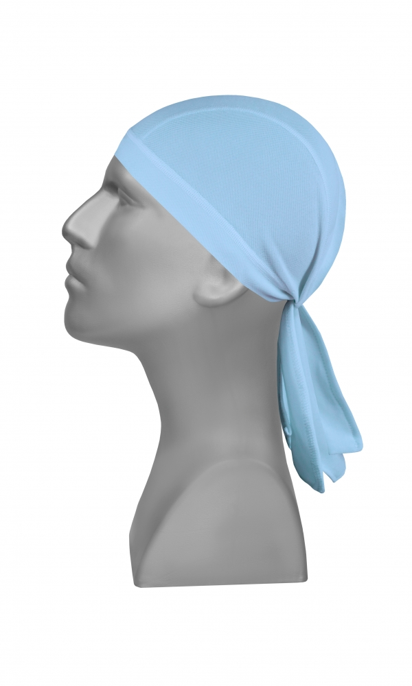 BANDANA Moisture Management light blue
