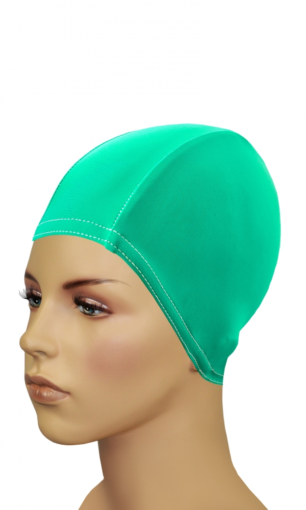 Bathing Cap For Long Hair green