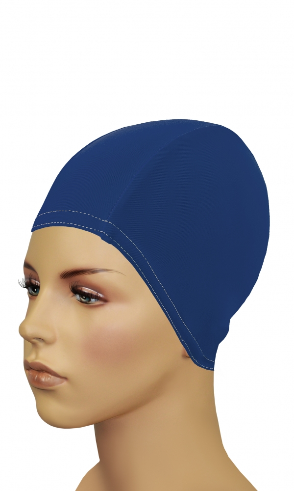 Bathing Cap For Long Hair n.blue