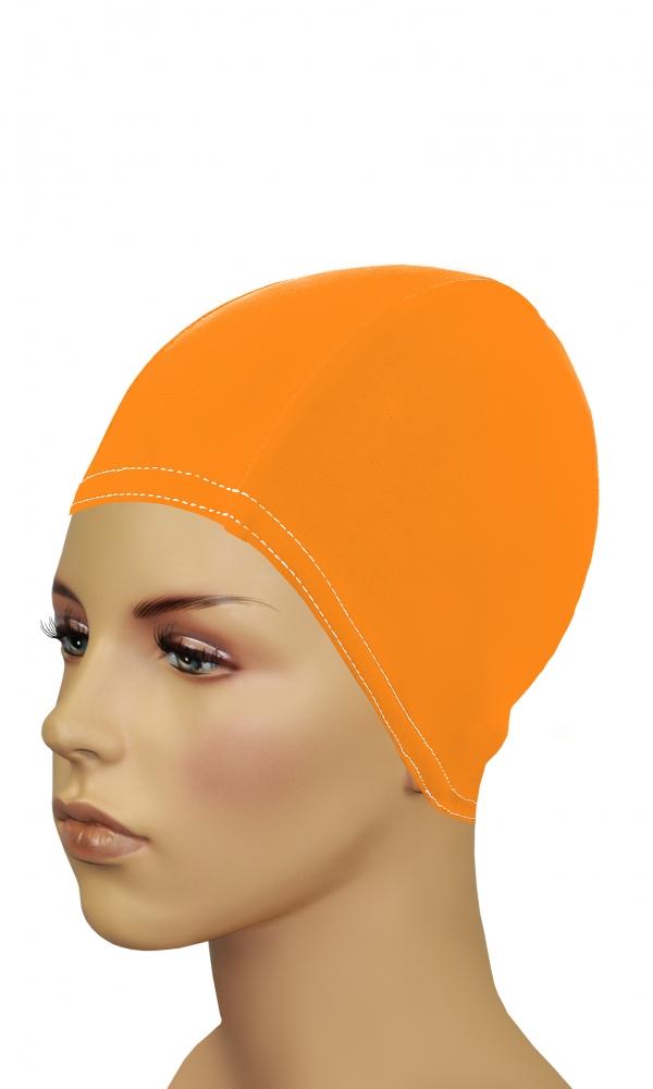 Bathing Cap For Long Hair orange