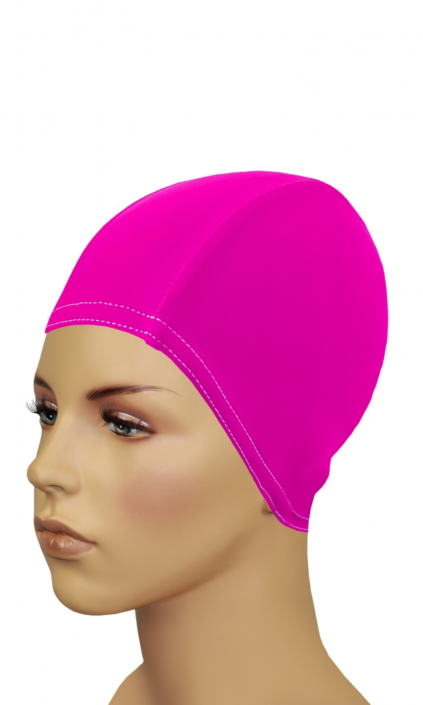 Bathing Cap For Long Hair pink