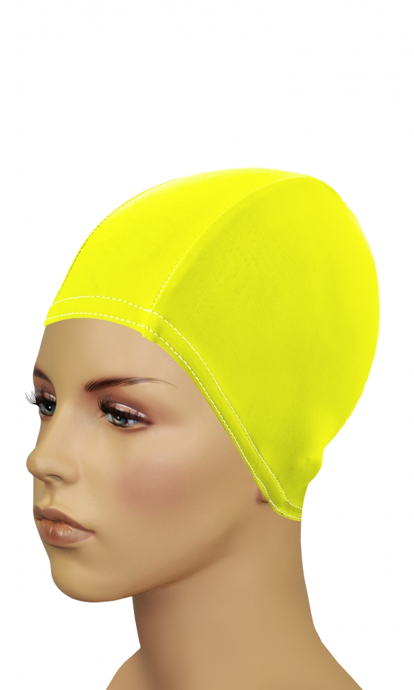 Bathing Cap For Long Hair yellow