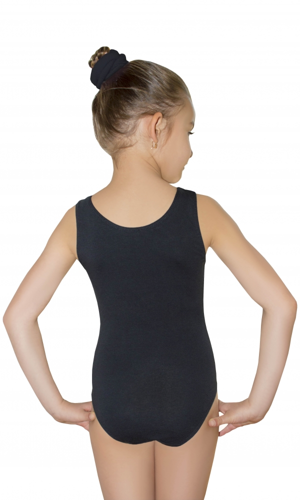 BODYSUIT GIRLS LEOTARD black