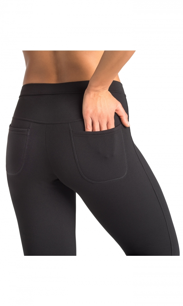 Classic Leggings With Back Pocket