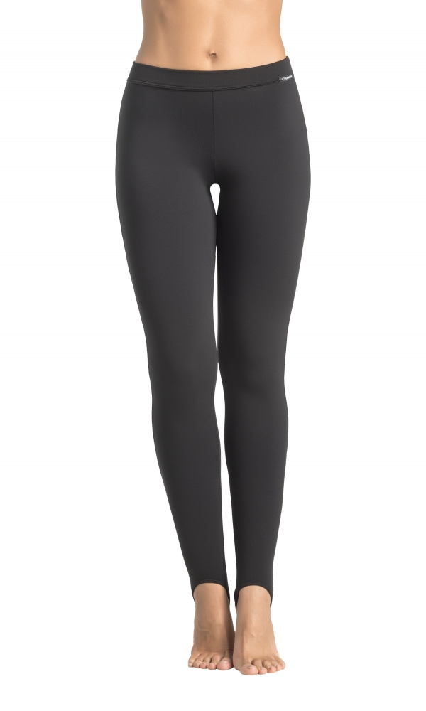 FOOT STRAP LEGGINGS COMFORTline black