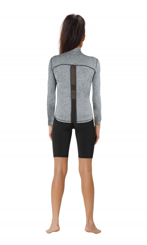 LADIES SPORT JACKET WITH MESH PANELS CLIMAline