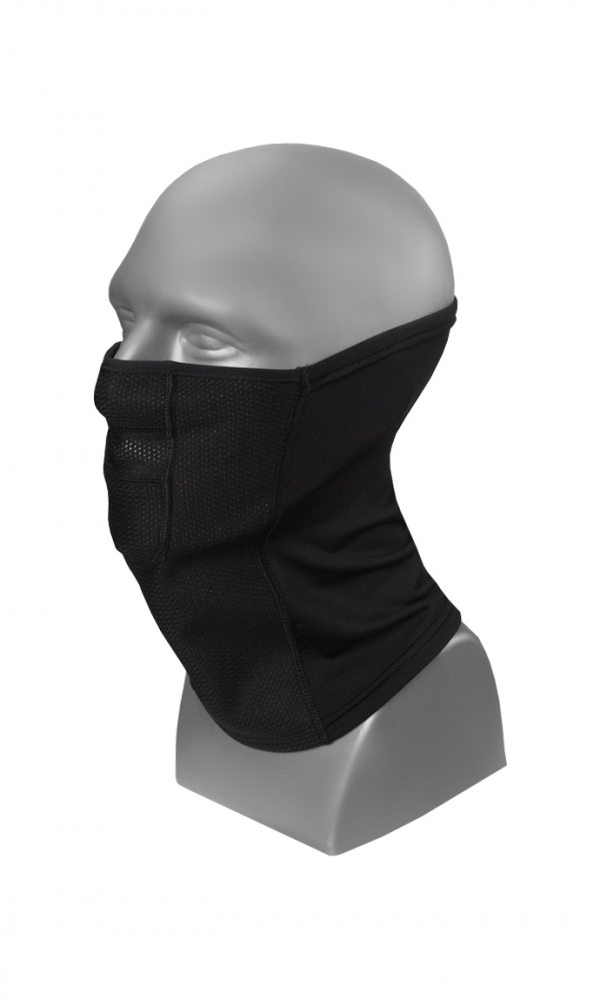 NECK FACE PROTECTOR serie M WARMline black