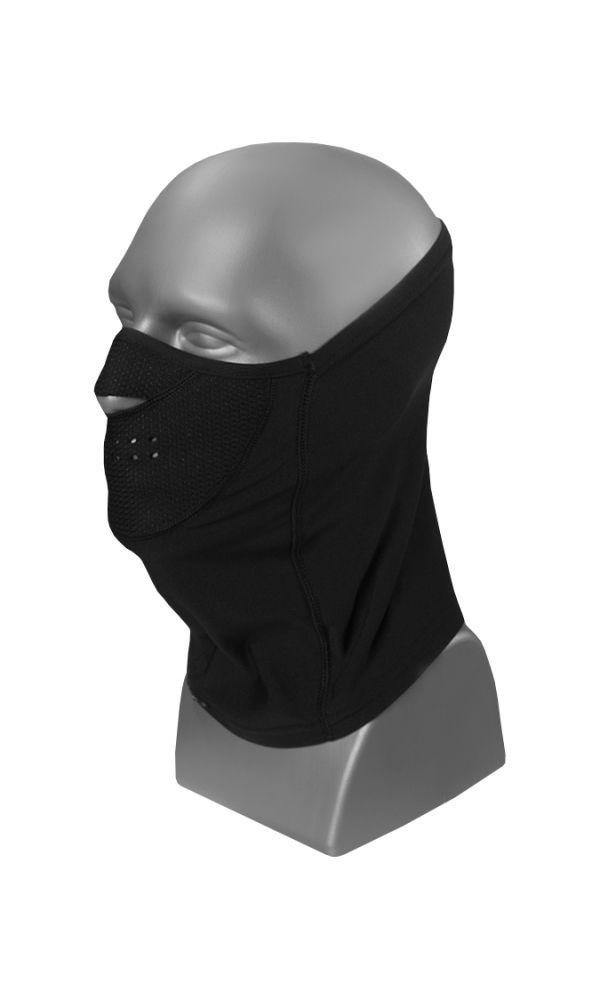 NECK FACE PROTECTOR serie S WARMline black