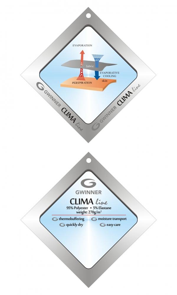 SHAPE & SLIM CAPRI MODEL 2 CLIMAline melange/bright pink