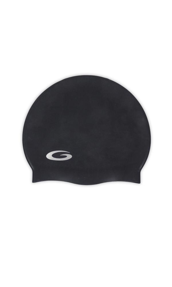 SILICONE SOLID CAP black