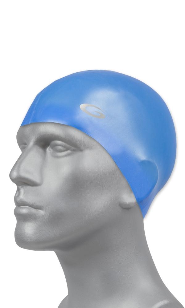 SILICONE SOLID CAP blue