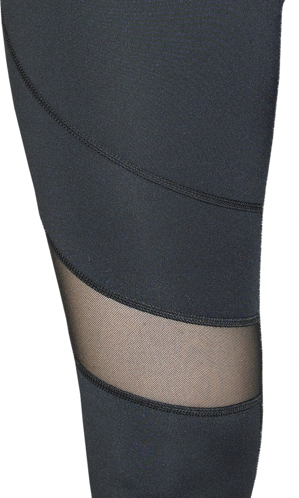 SLIMMING LEGGINGS WITH MESH PANELS CLIMAline black