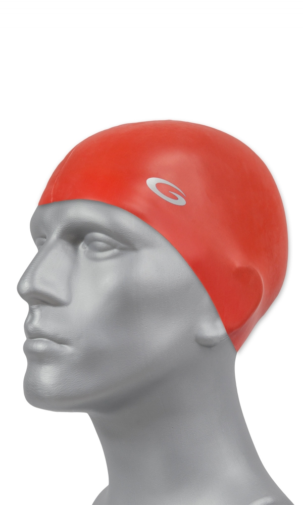 SILICONE SOLID CAP red
